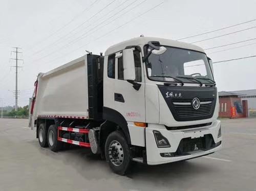 东风天龙压缩式垃圾车(国六18方)