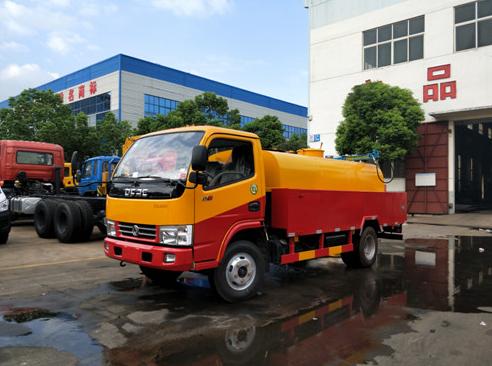 东风多利卡(管道疏通)高压清洗车