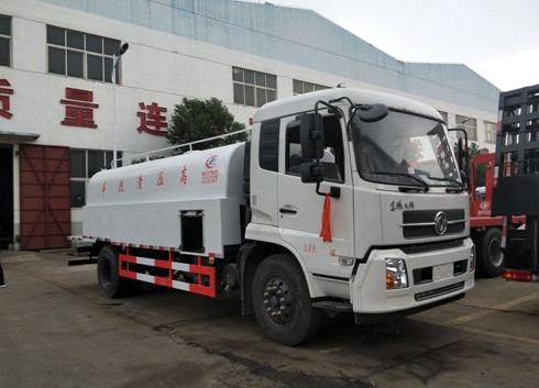 东风天锦(管道疏通)高压清洗车