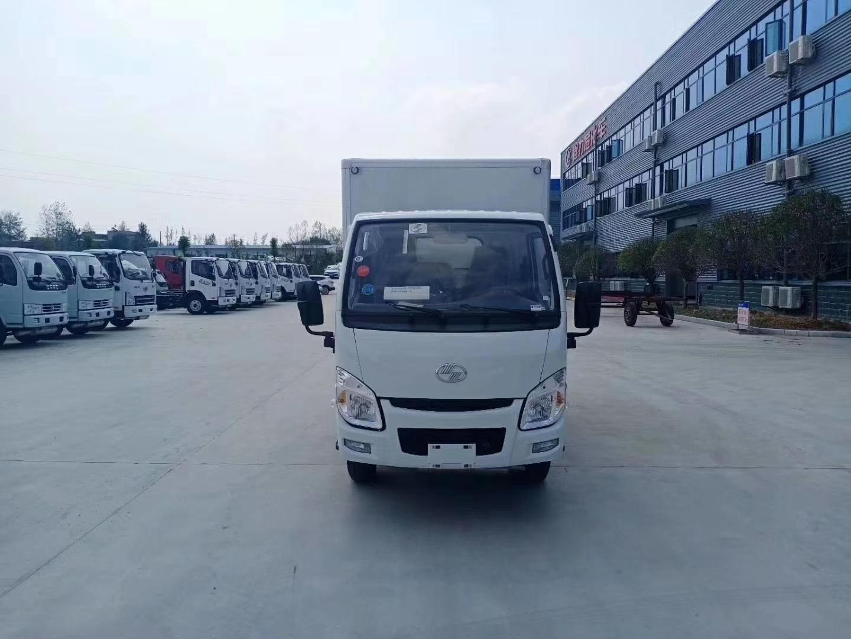 国六跃进易燃气体厢式运输车图片