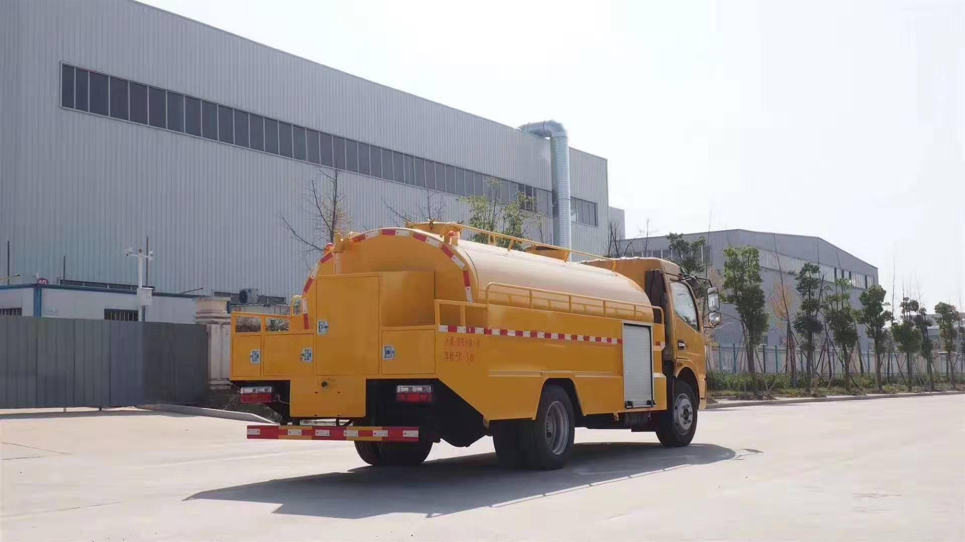 国六东风凯普特8方高压清洗车图片
