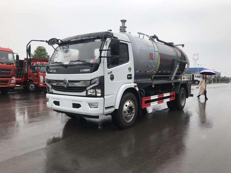 东风凯普特国六吸污车中国供应商图片