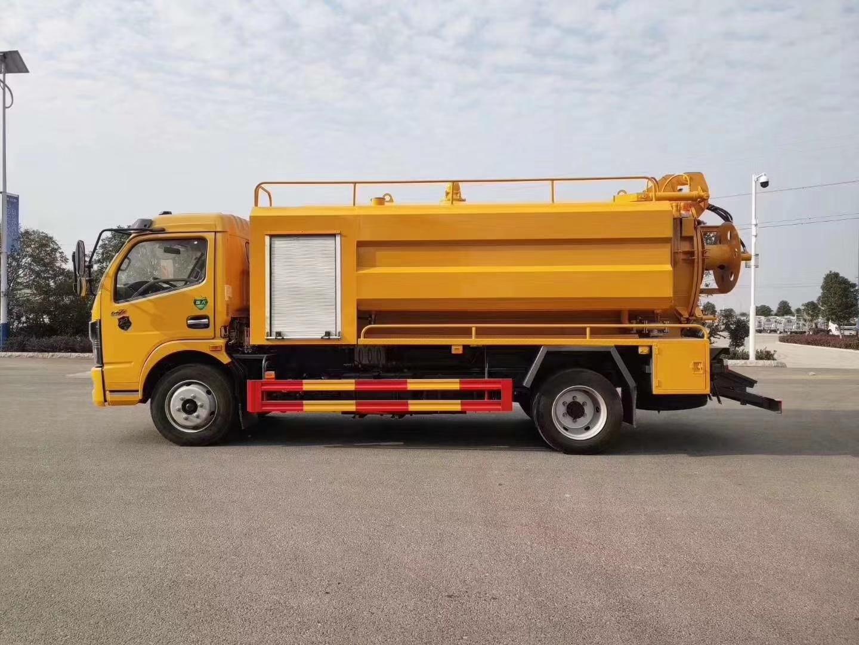东风D7(9方)清洗吸污车图片