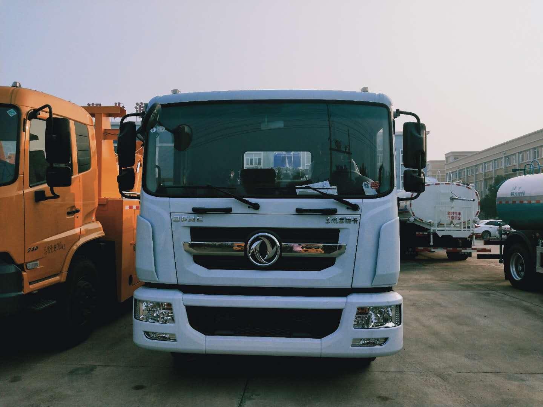 12吨13吨东风多利卡D9单桥拖吊联体清障车也叫拖车