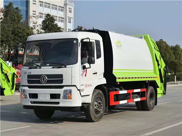 国六东风天锦14方压缩垃圾车最值得买的垃圾车