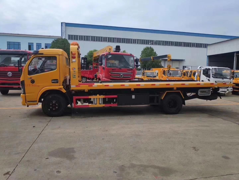 东风多利卡清障车救援车拖车国六图片