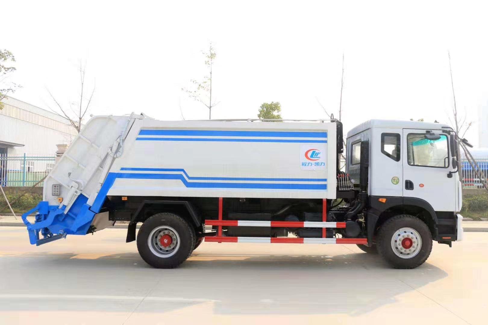 国六D9多利卡15方压缩垃圾车12吨图片