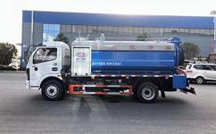 清洗吸污车|多利卡12吨|吸污车厂家|汽车家园网图片