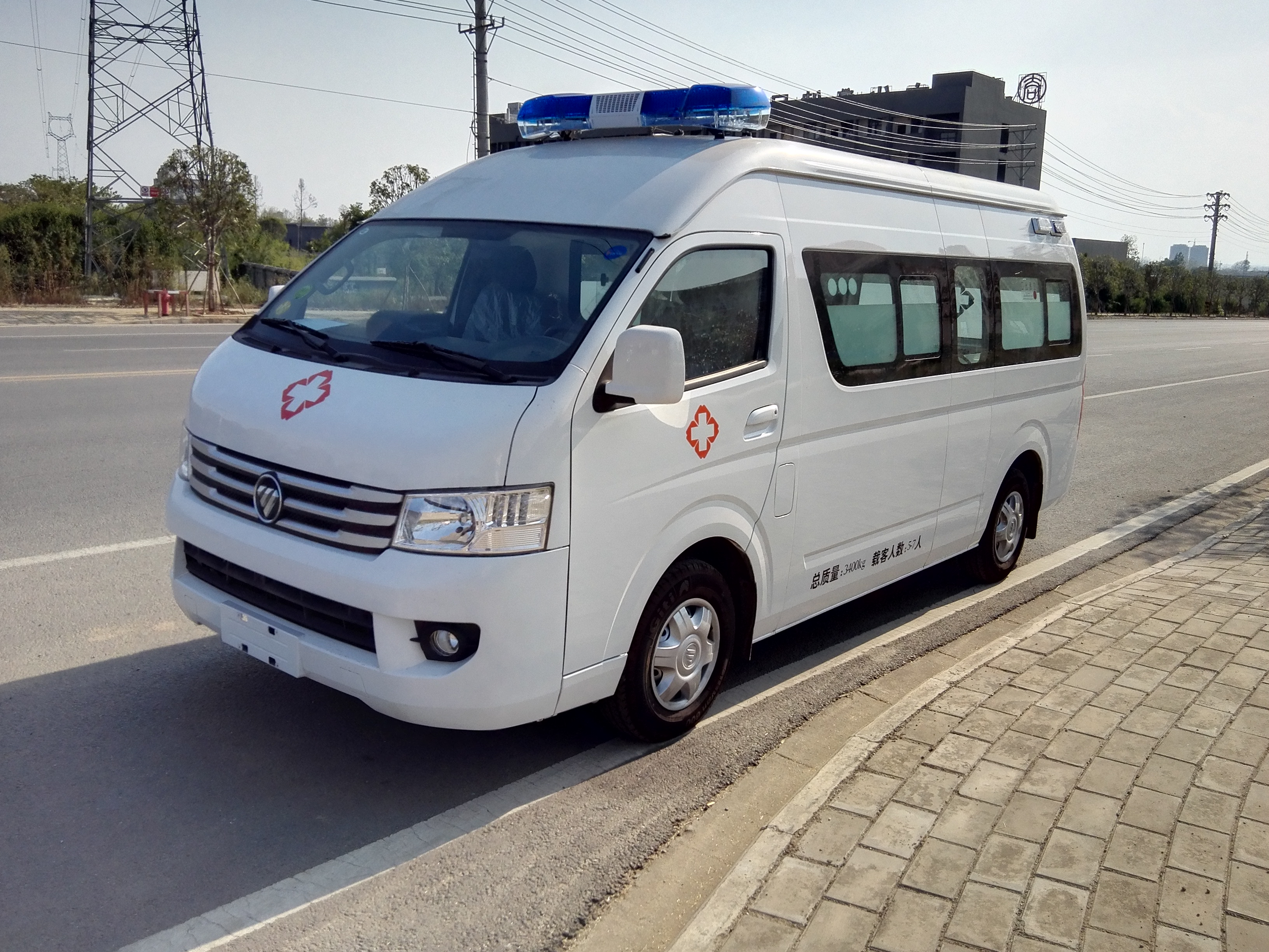 國六福田G9救護車 (7)