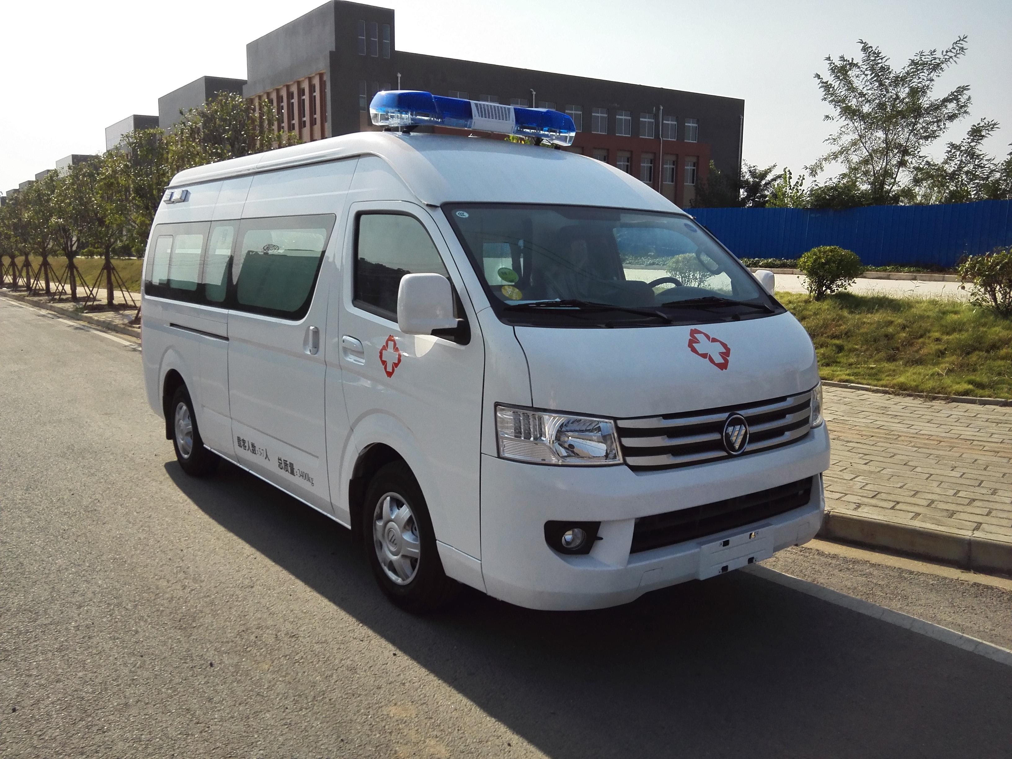 國六福田G9救護車 (6)