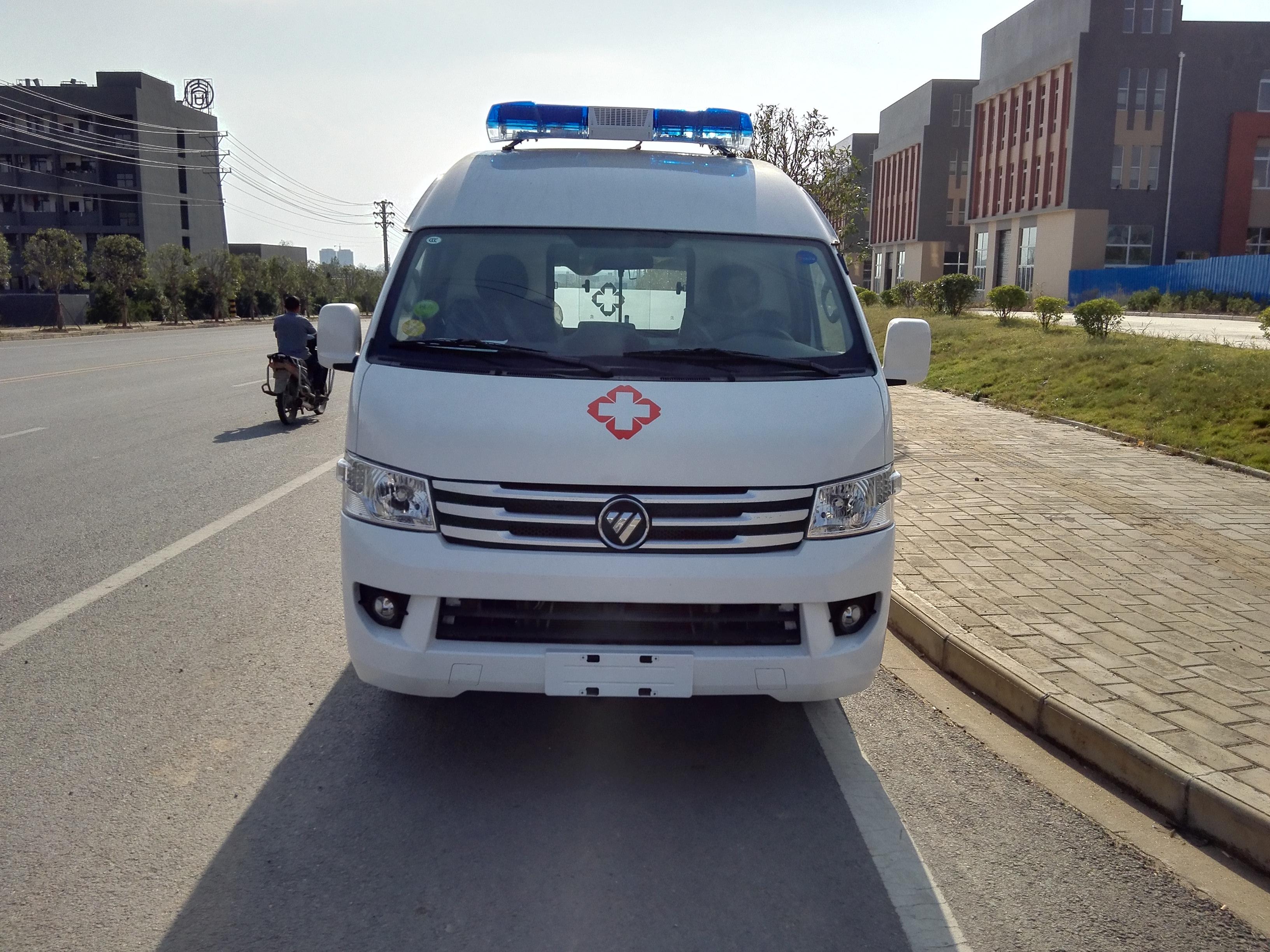 国六福田风景G9救护车价格