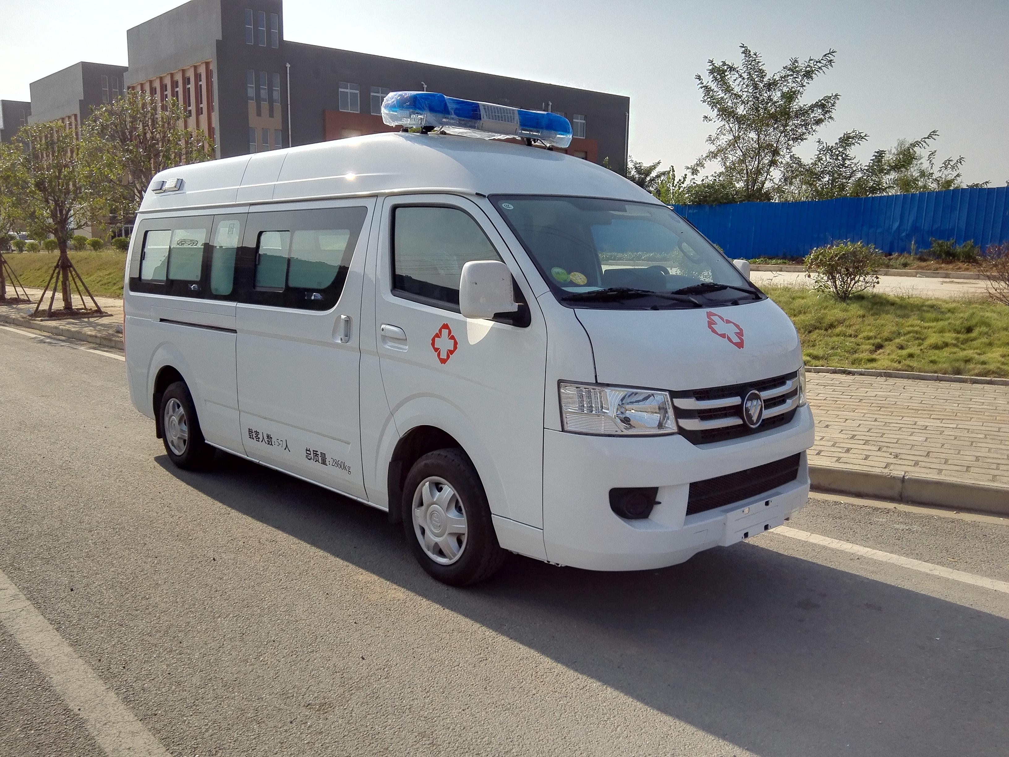 国六福田风景G7救护车厂家