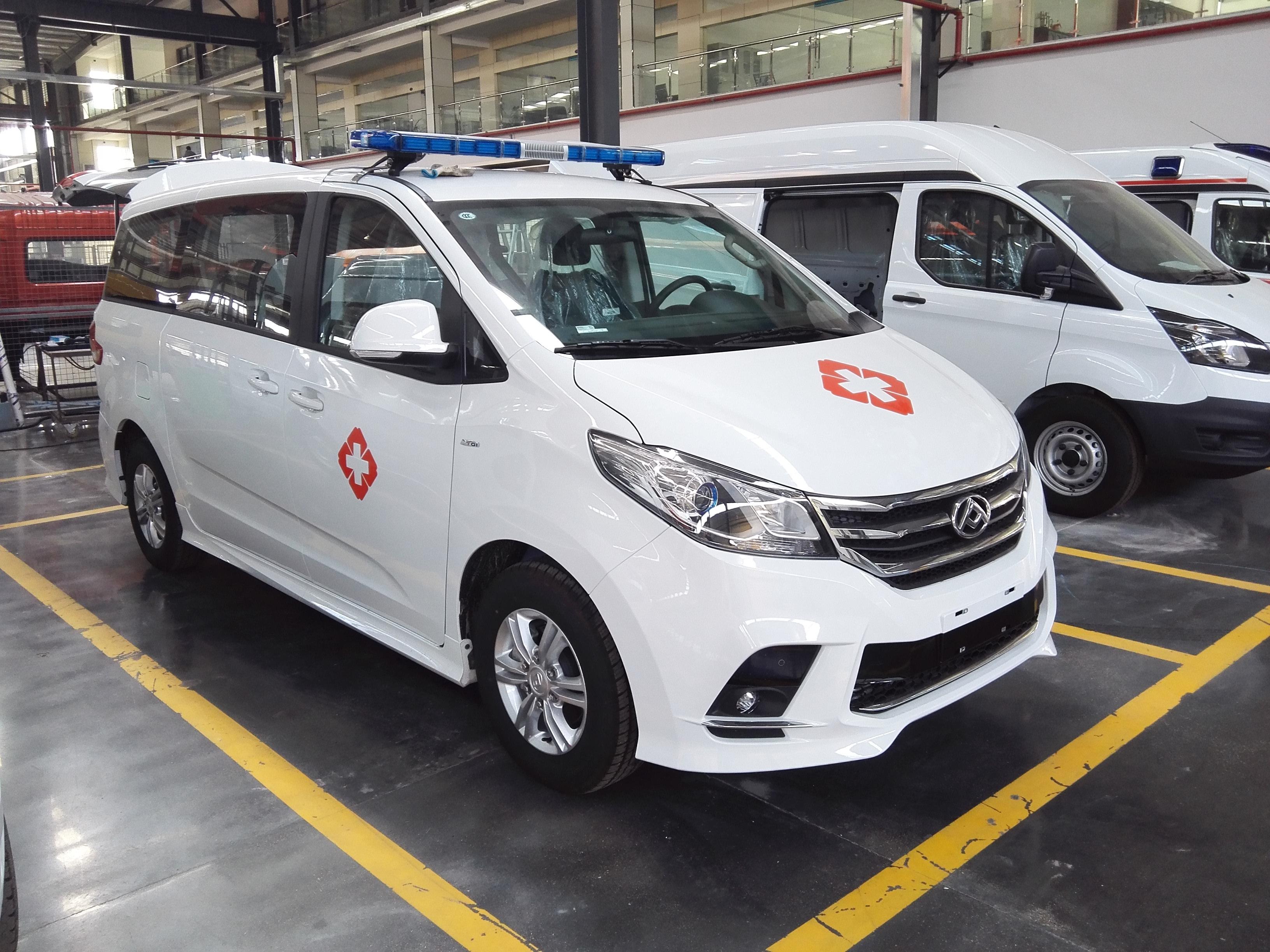 国六上汽大通G10救护车(汽油)