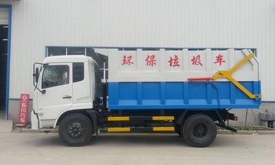 东风天锦对接垃圾车厂家直销视频