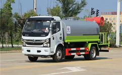 国六东风多利卡D915方雾炮车|工程洒水专用