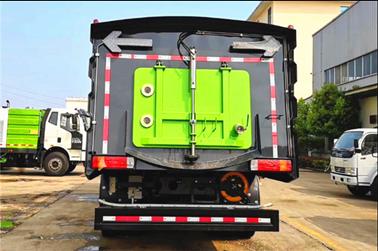国六解放J6  16吨洗扫车