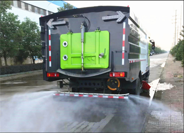 国六解放16吨洗扫车