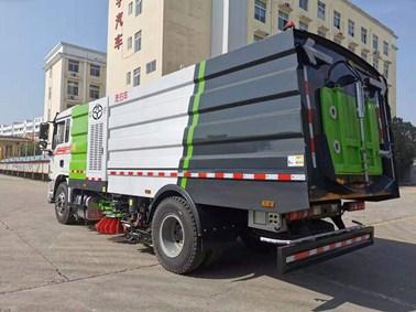 国六9吨洗扫车