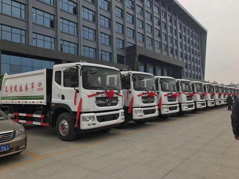 12立方垃圾车-高颜值款式最低价格厂家直接销售图片