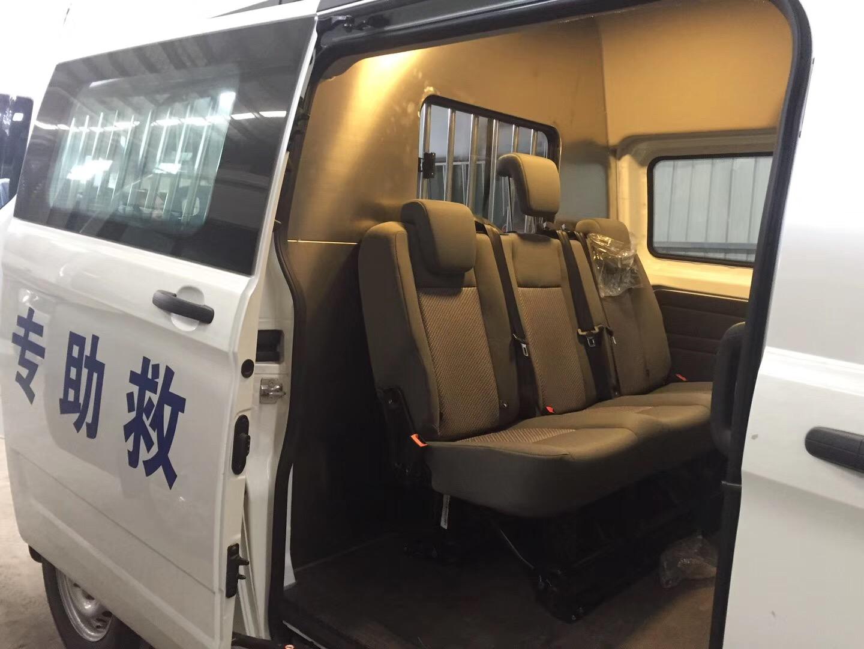 福特新全顺V362伤残运输车图片