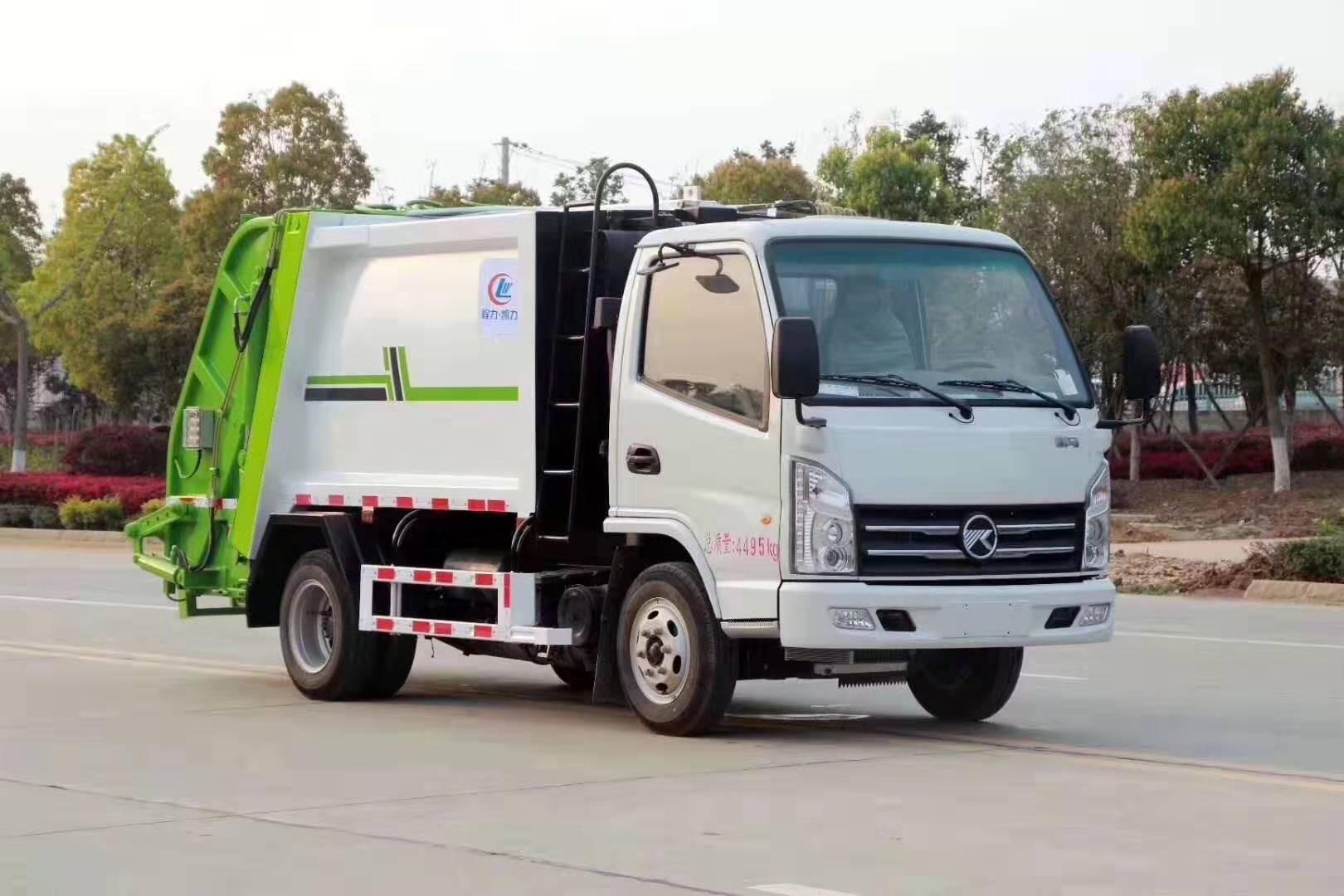 凯马3方压缩垃圾车(国六)