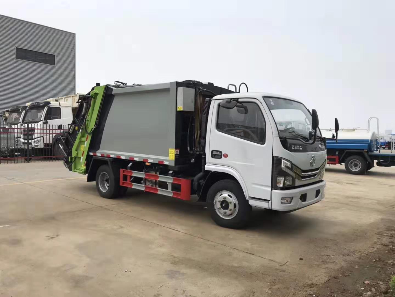 多利卡5方压缩垃圾车(国六)