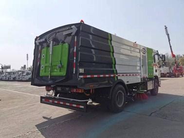 国六陕汽德龙L3000洗扫车(9方)图片