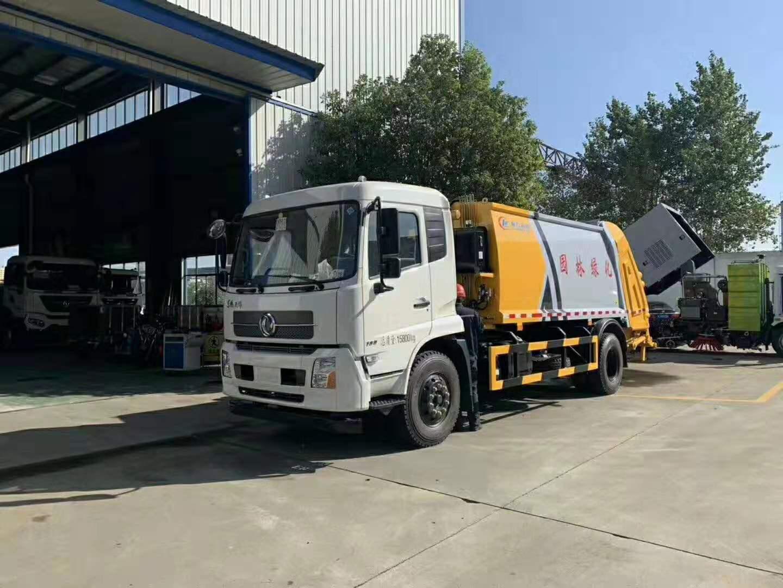 天锦12-14方压缩垃圾车(国六)
