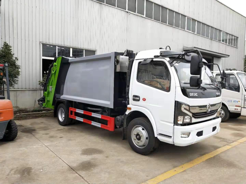 大多利卡8方压缩垃圾车(国六)