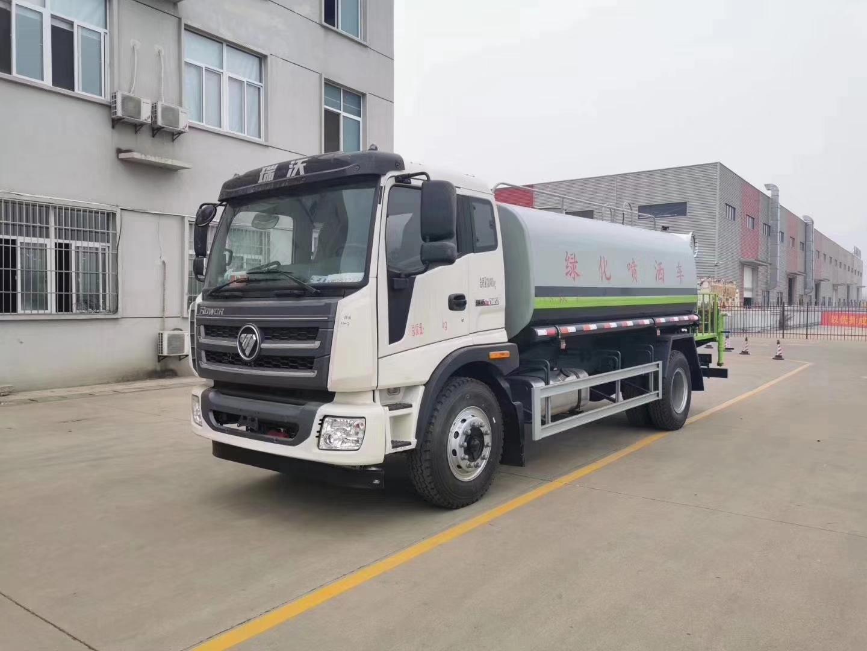 福田瑞沃15吨雾炮洒水车价格视频