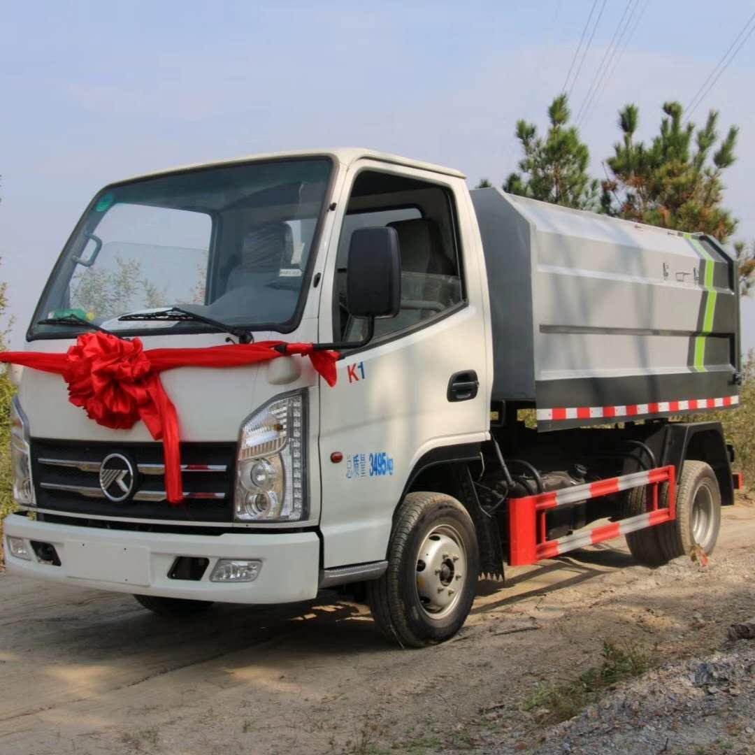 國六排放汽油機自裝自卸式垃圾車那有賣圖片專汽詳情頁圖片