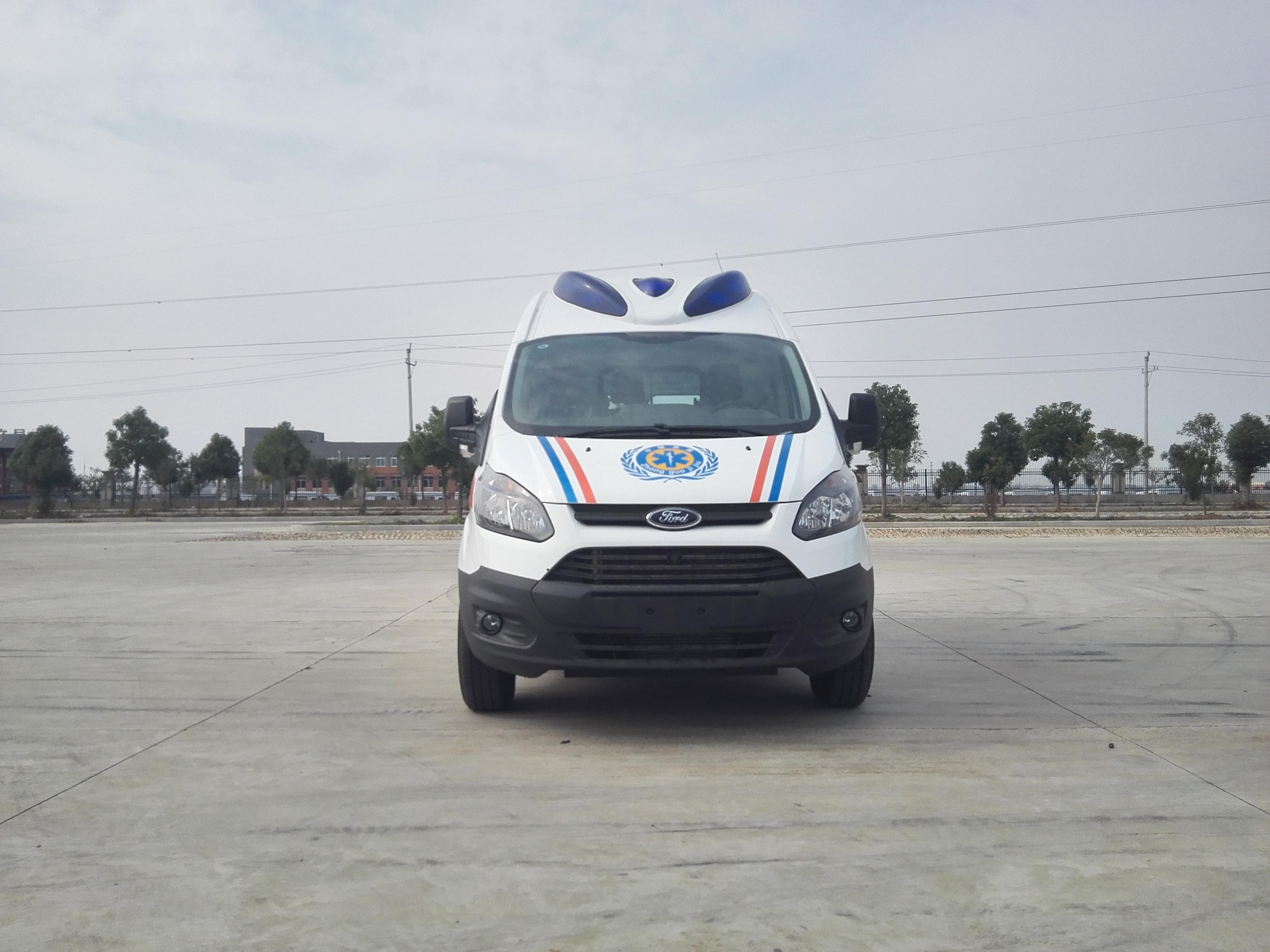 福特新全順V362救護車(汽油)