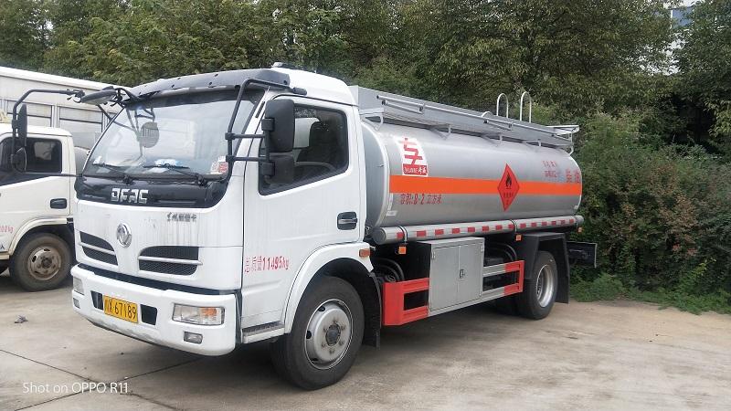 8吨工地流动加油车 厂家油罐车清库存 亏本处理 视频