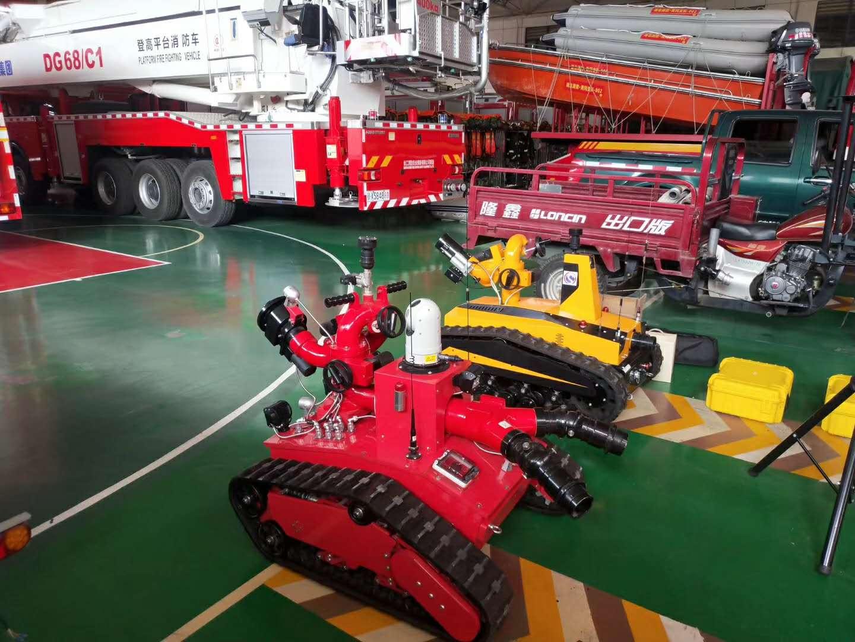 RXR_M40D消防滅火機器人圖片專汽詳情頁圖片