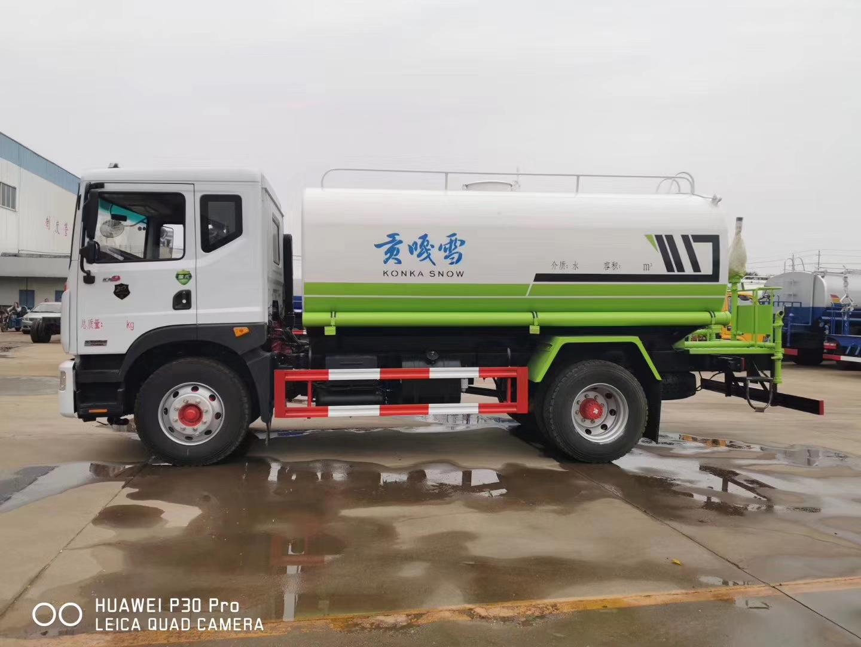 国六东风多利卡D9洒水车14吨洒水车图片