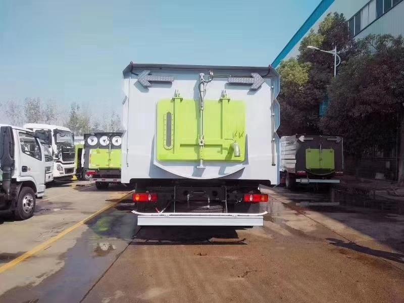 东风天锦国六16吨洗扫车图片