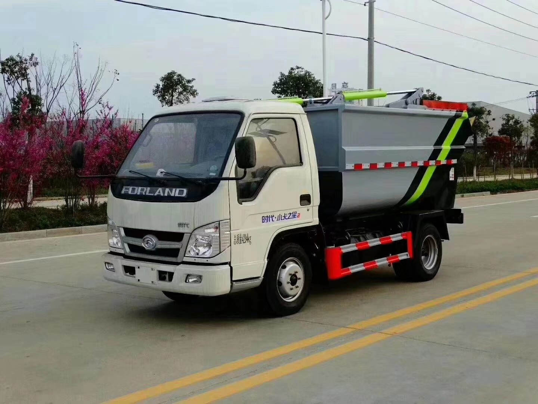 福田小卡之星2:勾臂垃圾車、灑水車,藍牌不超重國五柴油