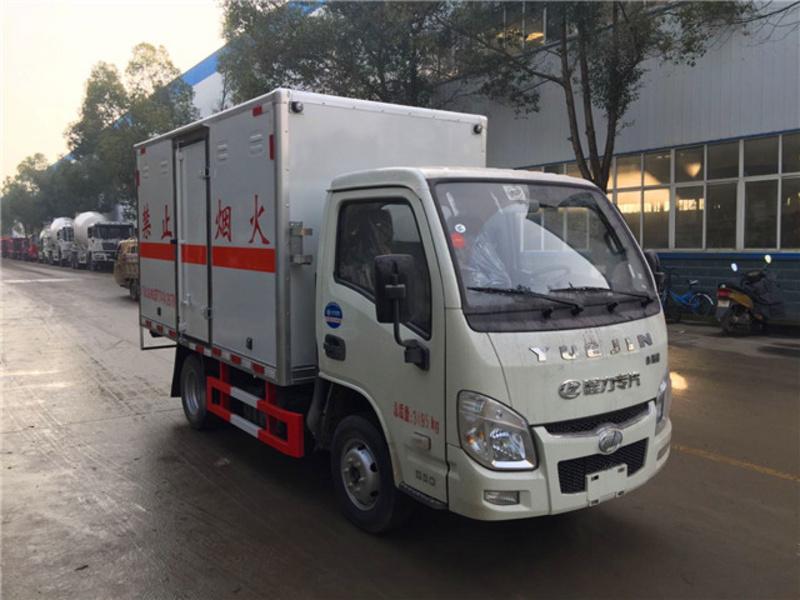购买跃进小福星危险品厢式运输车需要什么资质