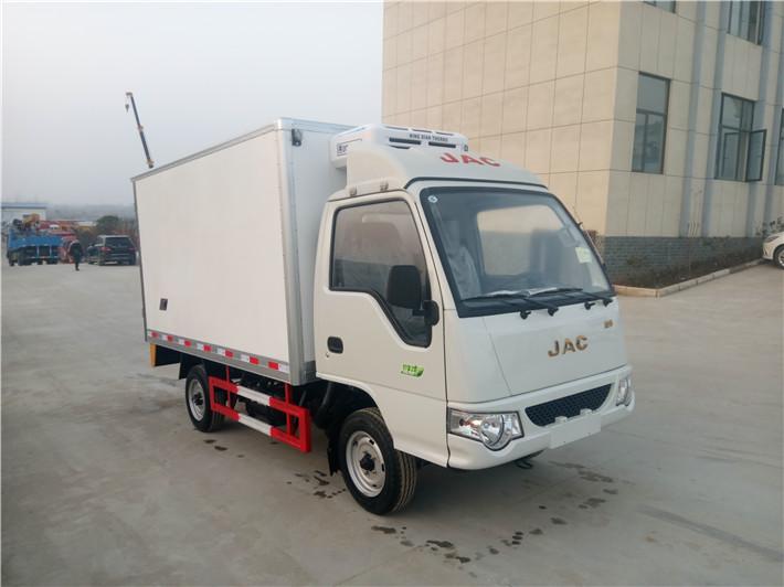 江淮康玲3.1米冷藏车5