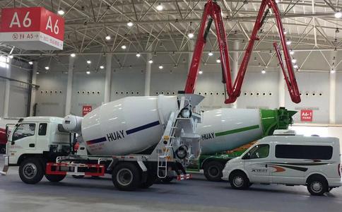 小型混凝土臂架泵车展示31米32米35米39米