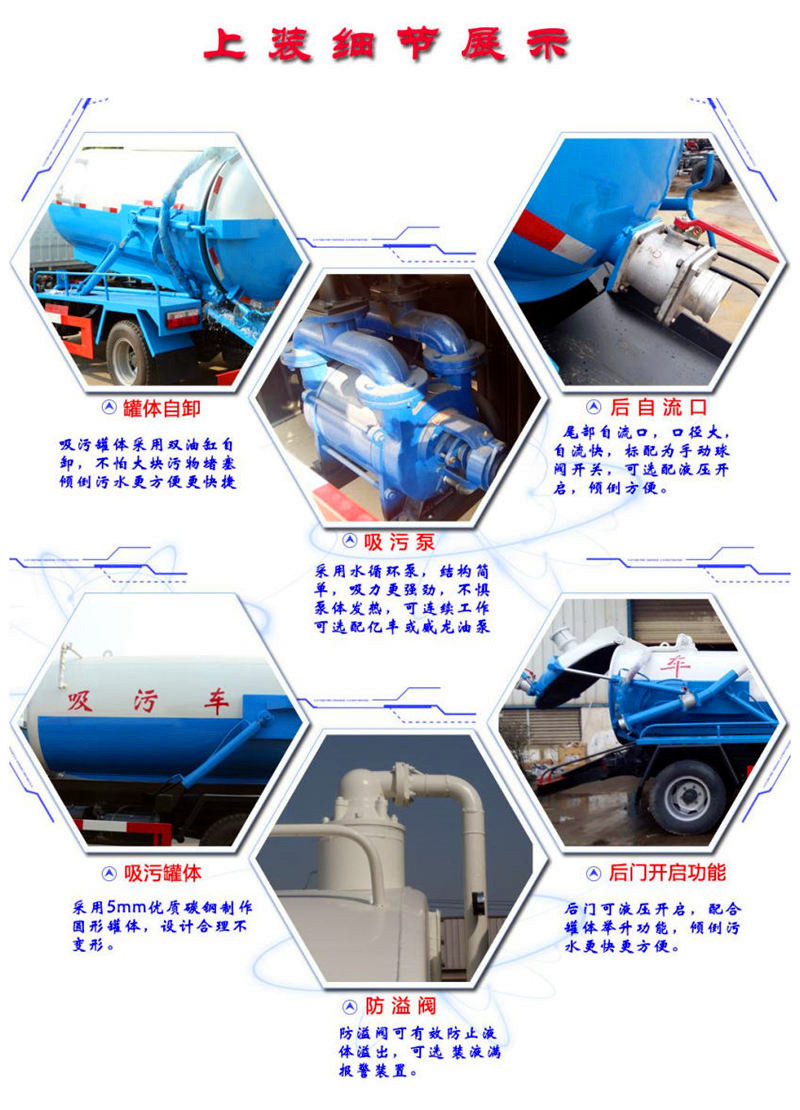 上蓝牌清洗吸污车价格表(图2)