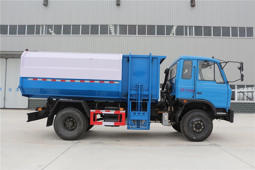 東風145型12方掛桶垃圾車價格圖片專汽詳情頁圖片