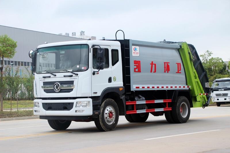 东风12吨压缩垃圾车厂家直销图片