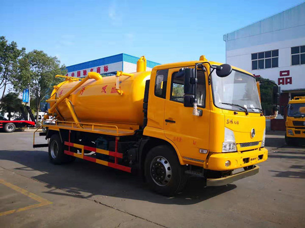 东风多利卡D6清洗吸污车|操作(水环泵)吸污车容易出的错误