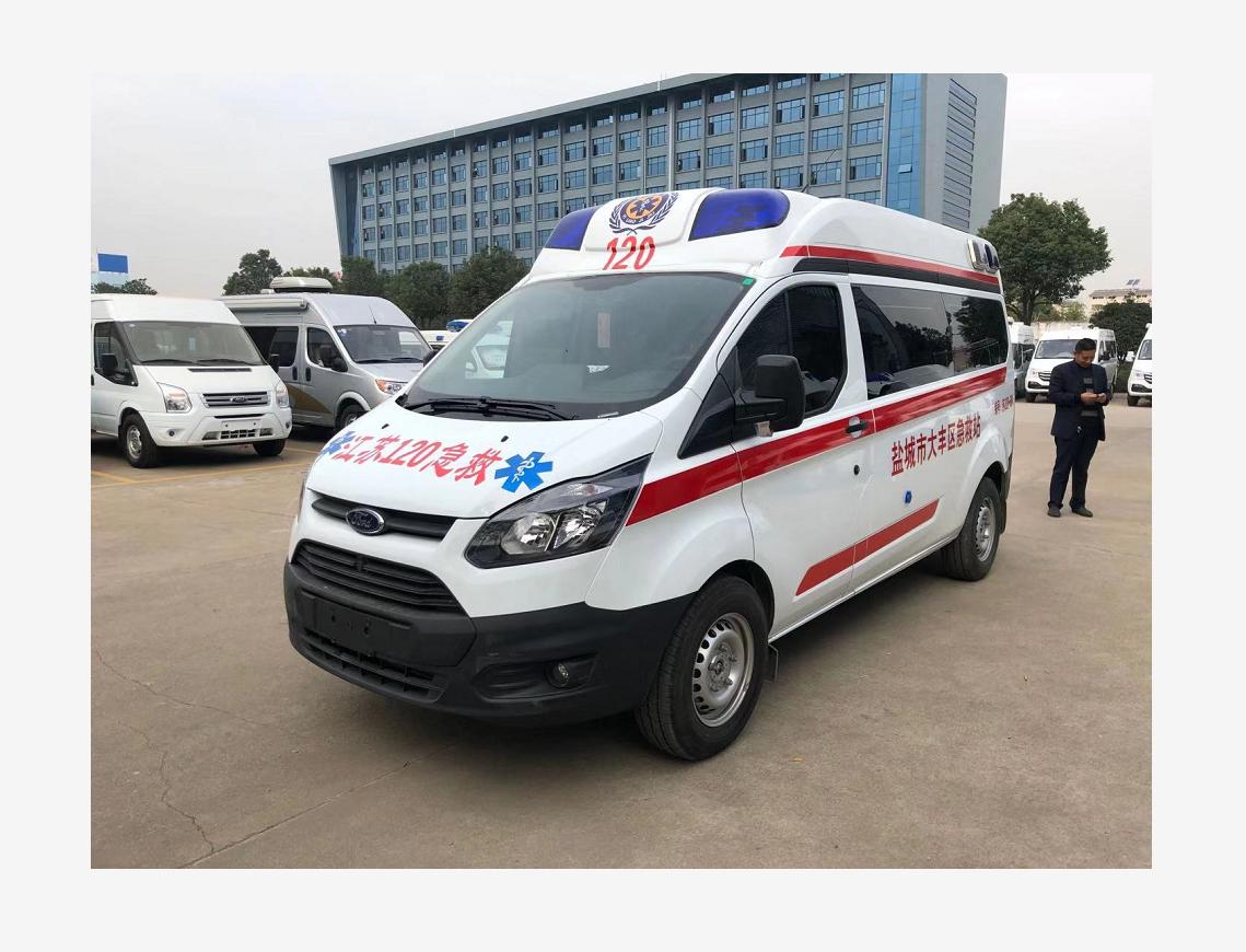 江铃福特新全顺V362中轴柴油监护版救护车