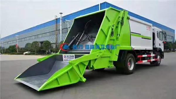 东风多利卡10立方压缩垃圾车定制一台多少钱|垃圾车到哪里可以定图片