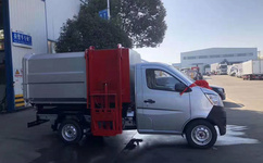长安3方2900轴距挂桶垃圾车环卫专家图片