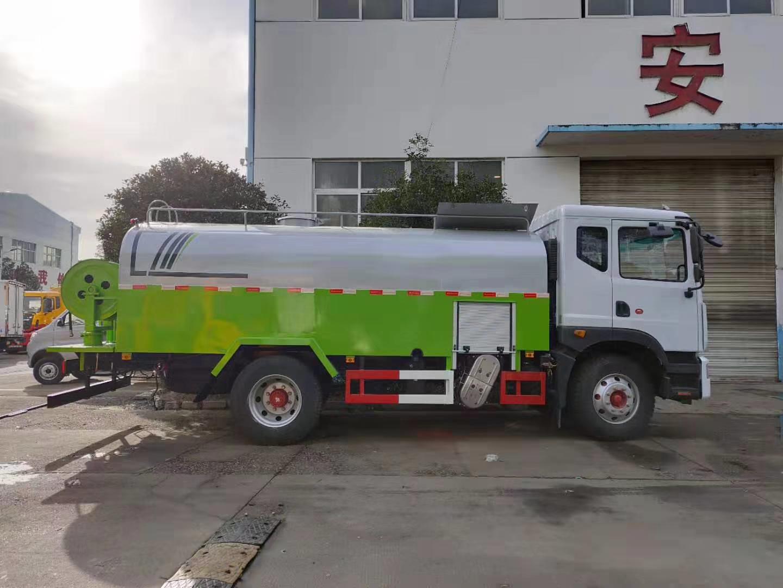 国六D9多利卡10方高压清洗车管道疏通车图片