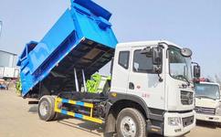 国六垃圾车厂家|东风天锦15立方垃圾车图片