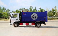 垃圾分类车|14立方天锦垃圾车|国六东风垃圾车厂家定制图片